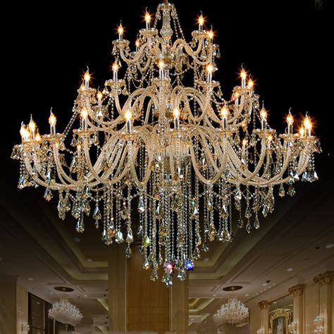 new design georgian style big chandelier lighting