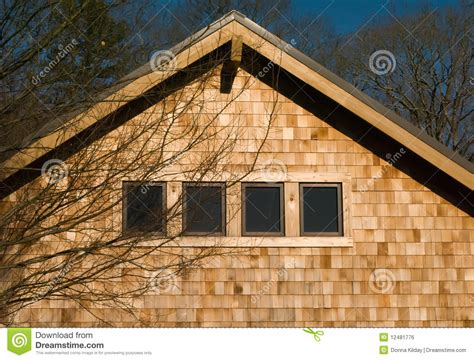 house shingles house with wood shingles royalty free stock image image 12481776