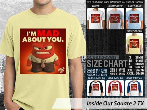 Kaos Inside Out 05 Square teesday clothing kaos inside out anak anak kaos