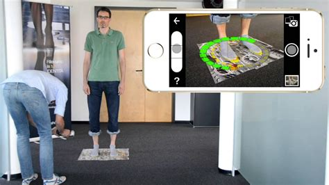 shoe scanner right shoes smartphone tablet 3d scanner app