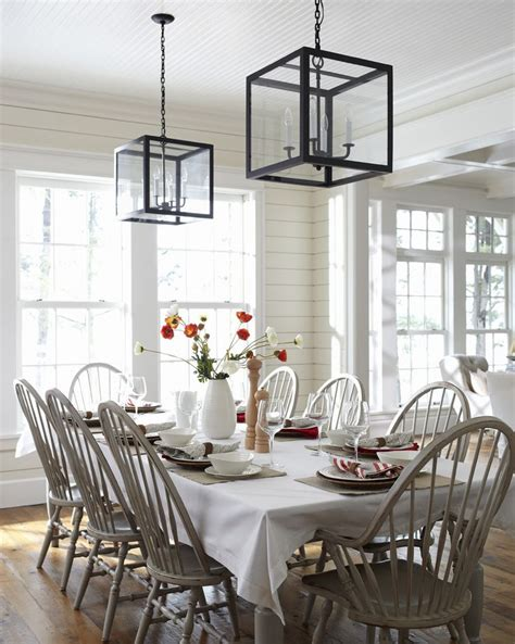 lake house dining room ideas love this style white wood cottage the inspired room