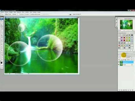 tutorial adobe photoshop cs3 vector tutorial photoshop cs3 bubbles effect youtube