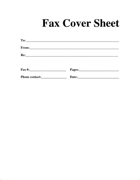 How To Make A Cover Page For A Research Paper - 13 how to write fax cover letter basic appication