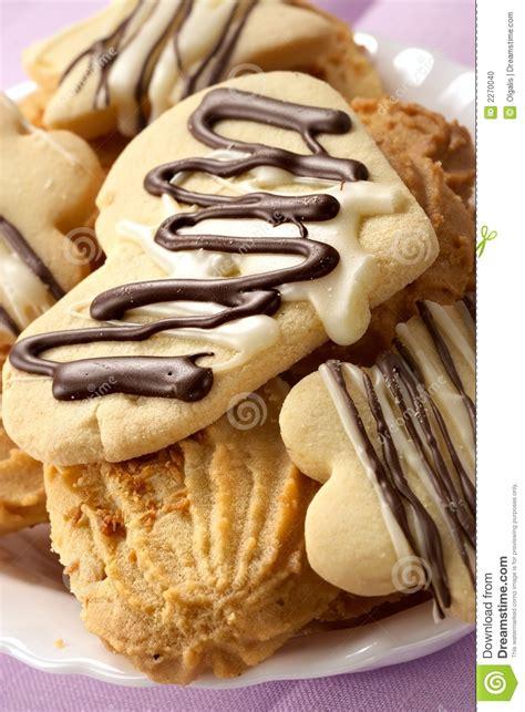 Mr Pat Glaz Cookies cookies glazed by chocolate stock photo image 2270040