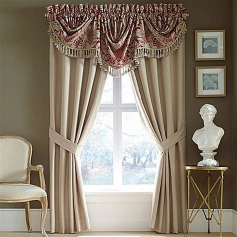 red bathroom blinds croscill 174 avery window curtain panel and valance in red