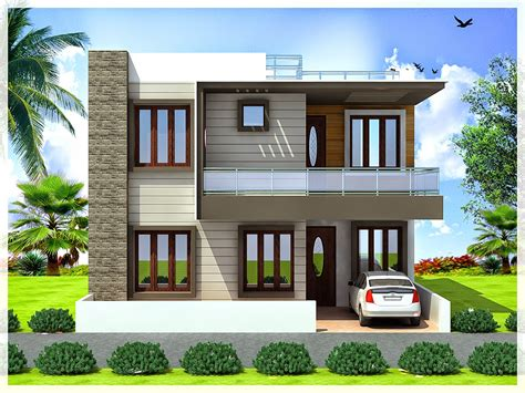 Duplex Floor Plans India by Ghar Planner Leading House Plan And House Design