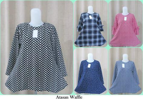 Pusat Grosir Baju Atasan Owi Top Katun pusat grosir atasan waffle wanita dewasa murah 36ribuan