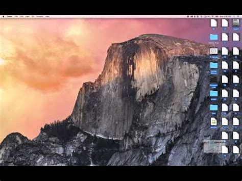 optimizing your mac yosemite mac os x yosemite desktop environment youtube