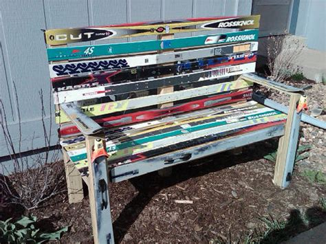 how to make a ski bench ski bench flickr photo sharing