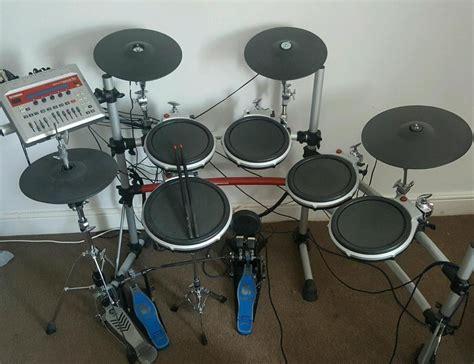 Kaos Yamaha Drums P yamaha dtxtreme ii electronic drum kit in margate kent