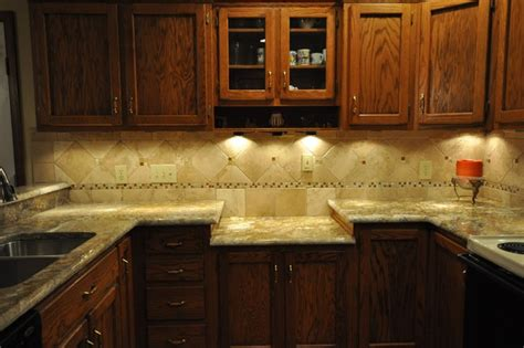 kitchen countertops and backsplash granite countertops and tile backsplash ideas eclectic
