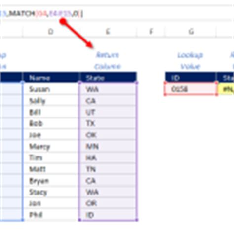 Mba Excel Lookup by How To Use Vlookup