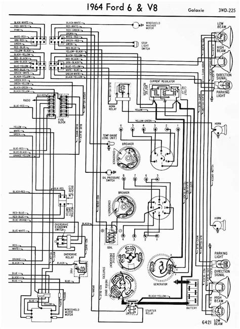 1964 ford fairlane wiring diagram 33 wiring diagram