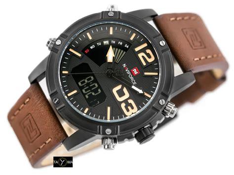 Naviforce 9095 Original 1 zegarek m苹ski naviforce 9095 1a clayer dual time alletime