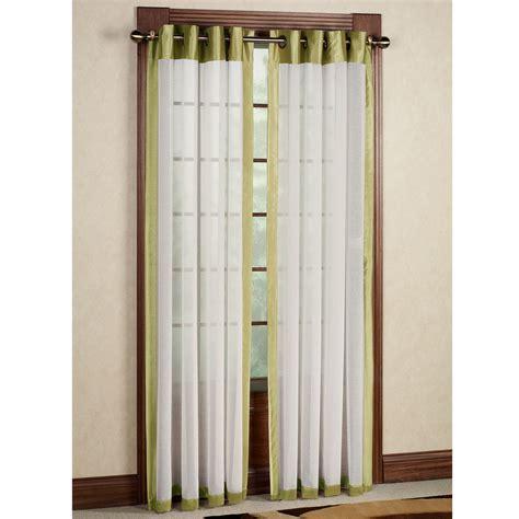 sheer curtain panel soho tailored sheer grommet curtain panels