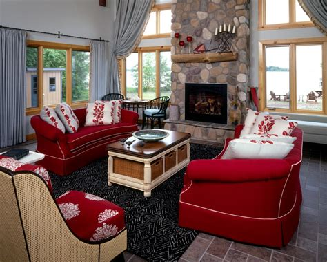 decorating with red couch 5 ways to decorate with red hgtv