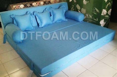 Kasur Busa Yang Bagus Dan Awet sofa bed inoac kasur busa lipat inoac biru muda dtfoam