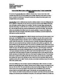 isolation theme in lord of the flies lord of the flies revision guide marked by teachers com