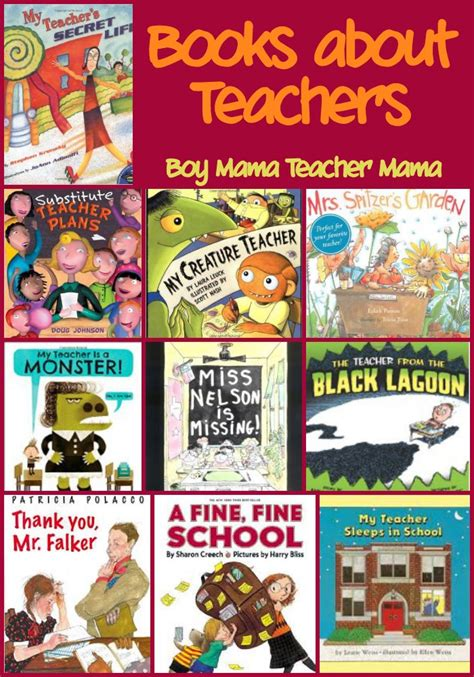 teaching with picture books book books about teachers boy