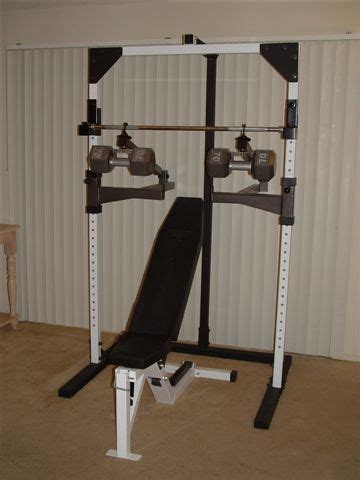 self spotting weight bench power spot self spotting barbell and dumbbell machine