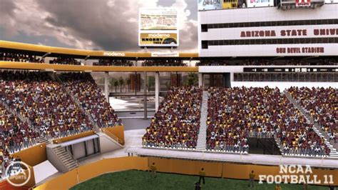 sun devil stadium visitor section help shape ncaa football band locations page 18