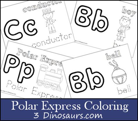 printable coloring pages polar express up of printables from 3 dinosaurs 3