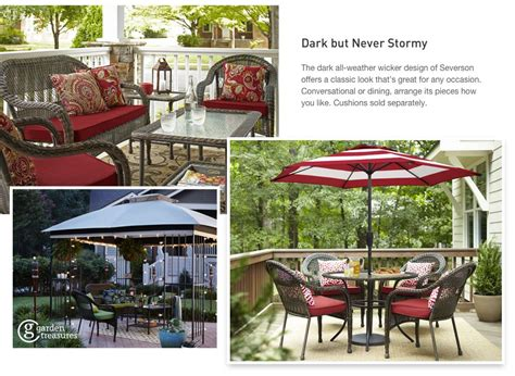 shop the severson patio collection on lowes com