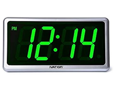 ivation clock amazon com ivation big time digital led clock table or