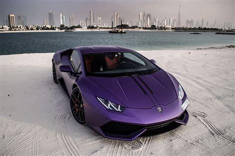 Matte Purple Lamborghini Huracan In Dubai The Saudi