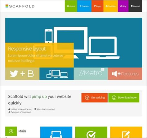 bootstrap splash page template 55 bootstrap templates want a future proof