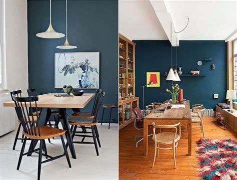 Couleur Peinture Salle Manger 3455 by Salle 224 Manger Bleu D 233 Co Sphair