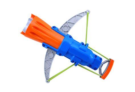 Crossbow water balloon launcher sharper image