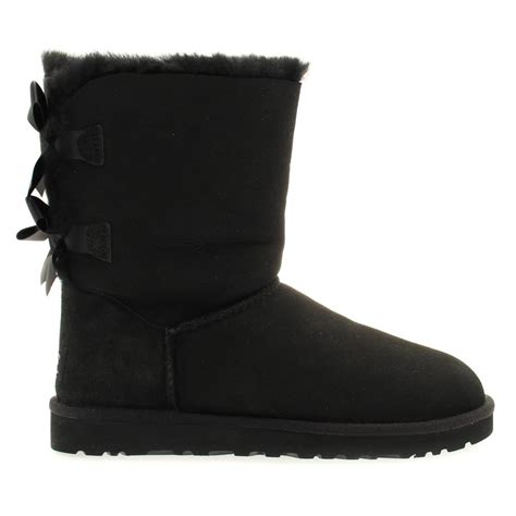 buy womens ugg 174 australia bailey bow boots in black at hurleys