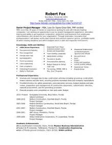 job resume construction project manager resume 2016