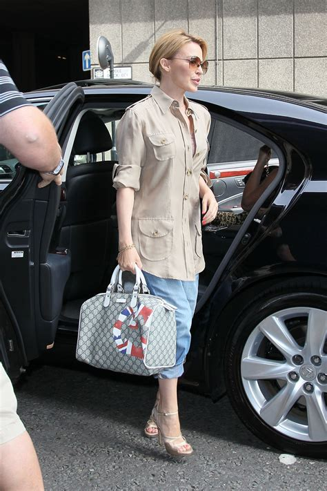 And Dannii Minogue Design A Handbag For The Terence Higgins Trust by Minogue Carried A Gucci Uk Gg Flag Collection Boston
