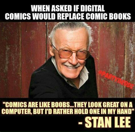 Stan Meme - stan lee comic book boobs funny pinterest stan lee