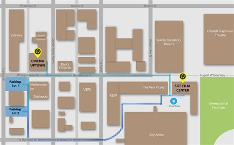 up film center map siff film center