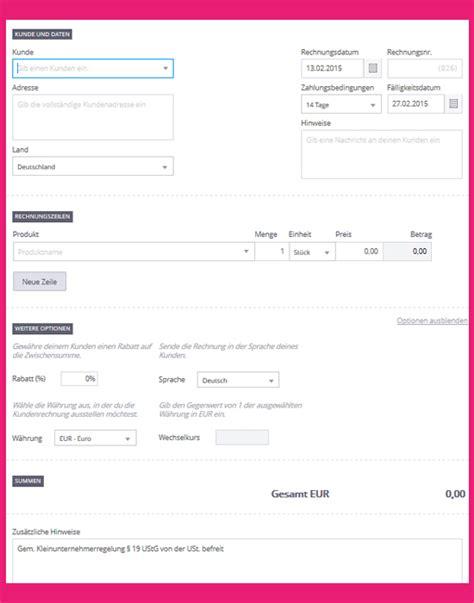 Lexware Muster Rechnung Wozu Du Eine Rechnungsvorlage Brauchst Debitoor Rechnungsprogramm