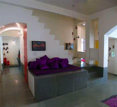 interesting india house  green volume  vibrant