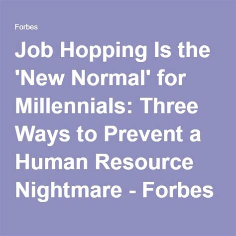 Job Hopping Is The New Normal For Millennials Three | 65 best macro social work images on pinterest social