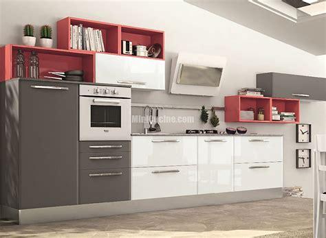 cucina con isolotto cucine a vista minicucine cucine moderne per piccoli spazi