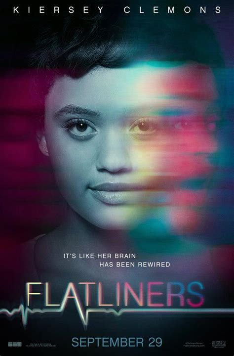 flatliners film poster flatliners remake character posters stare death in the