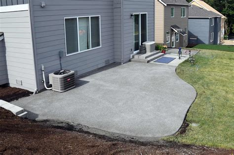 patio concrete concrete and paver patio installation in olympia and