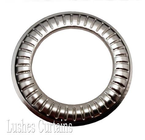 metal curtain grommets large curtain drapery nickel 12 metal grommets 1 9 16