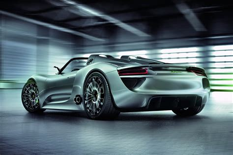 Porsche Offers The 918 Spyder Hybrid Cars On Sale For