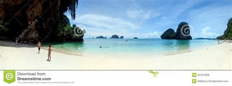 rock the boat a hat in time tourists on a hat phra nang beach editorial stock photo