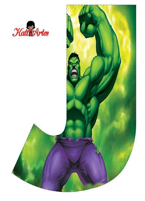 letras decoradas hulk alfabeto gratis de hulk oh my alfabetos