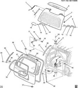Buick Parts Diagrams Gmc Envoy Parts Diagram Auto Parts Diagrams