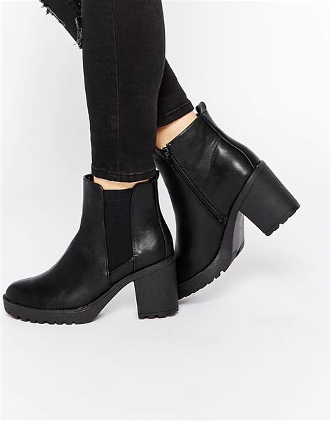 oasis oasis heeled ankle boots at asos