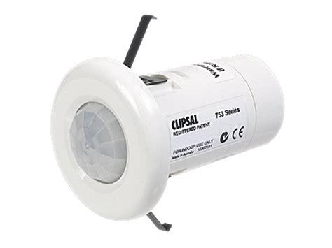 clipsal 753r motion infrared sensor sensor 10a 3